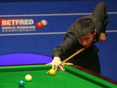 Zhao Xintong is one of the Chinese stars hoping to emulate Masters champion Yan Bingtao (Nigel French/PA)