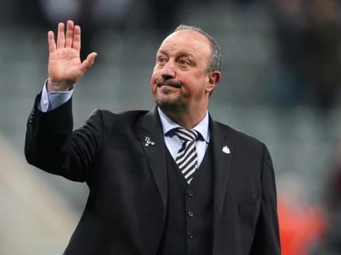 Rafael Benitez has left Chinese Super League club Dalian Professional (Owen Humphreys/PA)