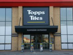 The retailer saw recent strong trading thanks to a buoyant DIY market (Topps Tiles/PA)