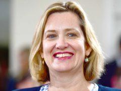 Former Cabinet minister Amber Rudd (Victoria Jones/PA)
