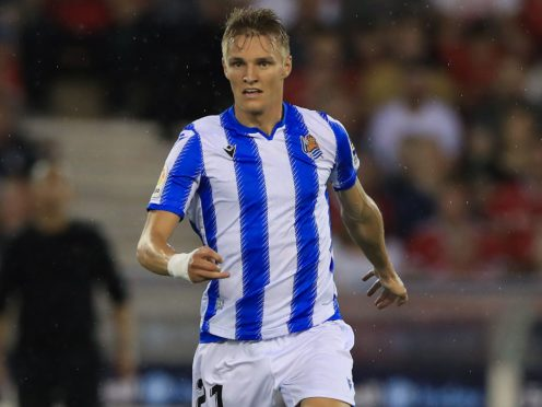 New Arsenal signing Martin Odegaard spent last season on loan at Real Sociedad. (Mike Egerton/PA)