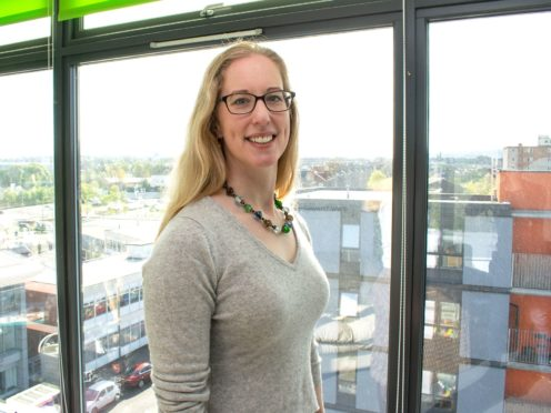 Lorna Slater welcomed the commitment to climate change from the new US administration (Scottish Green Party/PA)