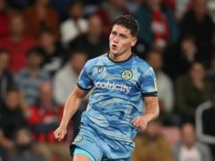 On-loan Forest Green striker Matty Stevens netted a late winner (Andrew Matthews/PA)