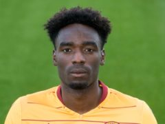 Devante Cole was on target for Motherwell (Jeff Holmes/PA)