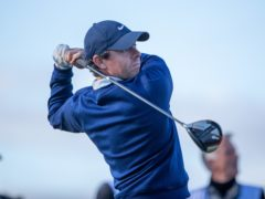 Rory McIlroy was the man to catch after the opening day of the Abu Dhabi HSBC Championship (Kenny Smith/PA)