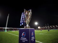 The Heineken Champions Cup and Challenge Cup competitions have been temporarily suspended (Nick Potts/PA)