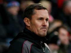 Paul Hurst hopes Grimsby can soon start picking up more points (Jonathan Brady/PA)
