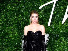 Actress Emma Roberts has shared the first glimpse at her baby son (Ian West/PA)
