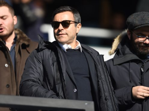 49ers Enterprises has taken an increased stake in Leeds, owned by Andrea Radrizzani, pictured (Daniel Hambury/PA)