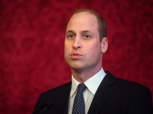 The Duke of Cambridge (Victoria Jones/PA)