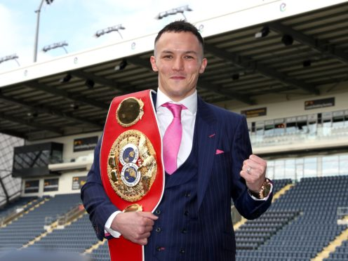Josh Warrington has vacated his IBF featherweight title (Bradley Collyer/PA)