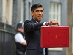 Chancellor Rishi Sunak (Victoria Jones/PA)