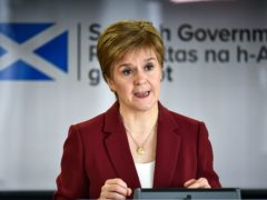 The First Minister announced changes at the coronavirus briefing (Jeff J Mitchell/PA)