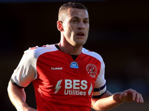 Paul Coutts could make his full debut for Salford against Cambridge (Mike Egerton/PA)