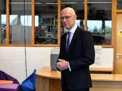 John Swinney said he is concerned about the impact of school closures on pupils (Andy Buchanan/PA)