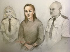 Court artist sketch by Elizabeth Cook of Olga Freeman (Elizabeth Cook/PA)