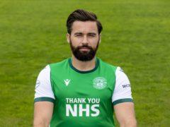 Darren McGregor was an unlikely goalscorer for Hibernian (Alan Rennie/PA)