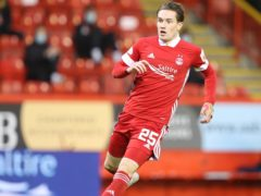 Scott Wright started for Aberdeen (Jeff Holmes/PA)
