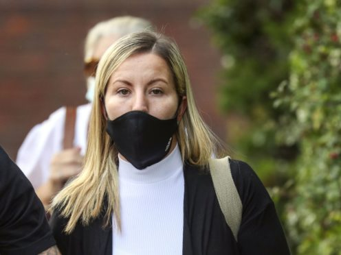 Teacher Kandice Barber is facing jail after being found guilty of having sex with a 15-year-old boy (Steve Parsons/PA)