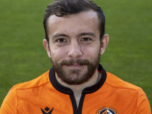 Paul McMullan has agreed a move to Dundee (Jeff Holmes/PA)