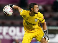 Alex McCarthy is in isolation after testing positive for Covid-19 (Jon Super/PA)