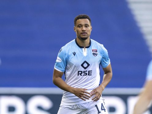 Ross County's Jermaine Hylton is looking forward to the Rangers match (Jeff Holmes/PA)