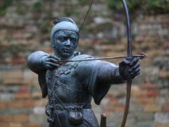 The World Wide Robin Hood Society has attracted a surge in social media followers after people confused it with a US stock trading platform 9Mike Egerton/PA)