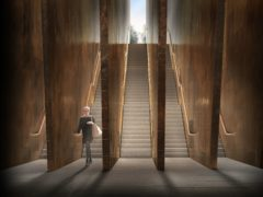 An artist's impression of the UK Holocaust Memorial (handout/PA)