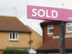 House sales jumped by nearly a third in December 2020 compared with a year earlier, HM Revenue and Customs figures show (Chris Ison/PA)