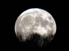 The moon (Owen Humphreys/PA)
