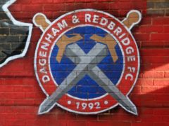 Dagenham & Redbridge were due to play Dover at Victoria Road (PA)