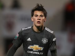 Manchester United's Facundo Pellistri has tested positive for Covid-19 (Martin Rickett/PA)