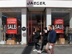 Jaeger administrators have said 233 staff have been made redundant (Stefan Rousseau/PA)