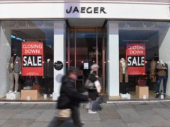 Jaeger has been bought by M&S in a deal that will see the brand continue to trade as a third party via M&S's website (Stefan Rousseau/PA)