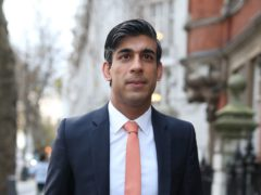 Rishi Sunak said the UK Government was committed to economic support (Yui Mok/PA)