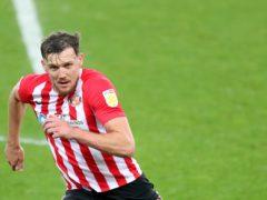 Charlie Wyke scored a hat-trick for Sunderland (Richard Sellers/PA)