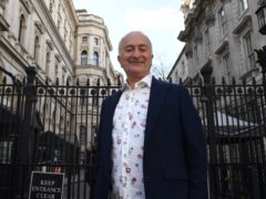 Sir Tony Robinson has had his first coronavirus vaccine (Stefan Rousseau/PA)