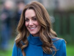 The Duchess of Cambridge has recorded a video message to mark Children's Mental Health Week (Andy Commins/Daily Mirror/PA)