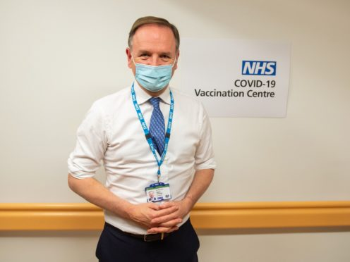 Sir Simon Stevens said the NHS was in a 'very serious' position (Dominic Lipinski/PA)