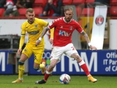 Marcus Maddison picked up an ankle injury in Charlton's defeat against Accrington (Steven Paston/PA)