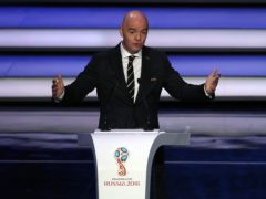 FIFA president Gianni Infantino and his confederation counterparts have rejected the idea of a European Super League (Nick Potts/PA)