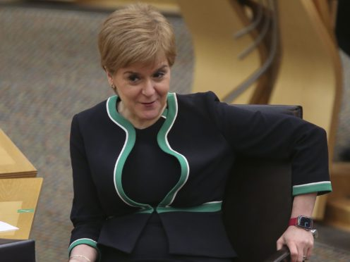 Opposition leaders have called for Nicola Sturgeon to drop the draft referendum Bill that would set out plans for another Scottish independence referendum (Fraser Bremner/Daily Mail/PA)