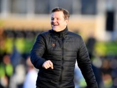 Forest Green manager Mark Cooper (Simon Galloway/PA).