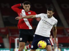 Ruben Dias, right, has made an immediate impact at Manchester City (Adrian Dennis/PA)