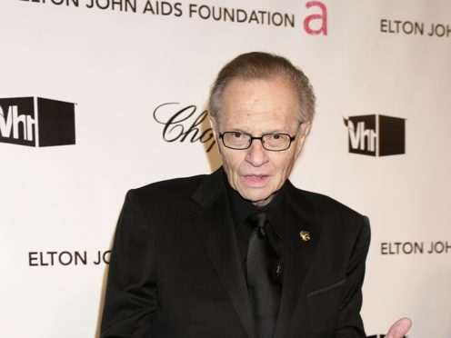Larry King has died aged 87 (PA)