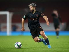 Manchester City must continue without Sergio Aguero (Nick Potts/PA)