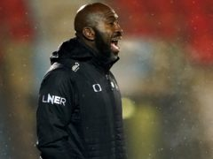 Darren Moore was delighted with the display against Rochdale (Zac Goodwin/PA)