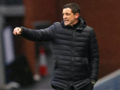 Jack Ross is looking for Hibernian to respond to their loss to Ross County (Jeff Holmes/PA)