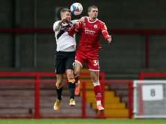 Cardiff have signed Crawley striker Max Watters (right) (Kieran Cleeves/PA)