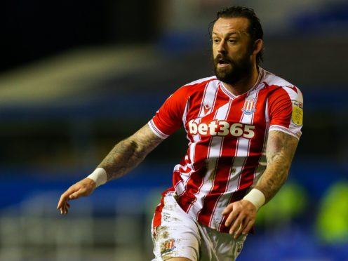 Steven Fletcher is a fitness doubt for Stoke (Barrington Coombs/PA)